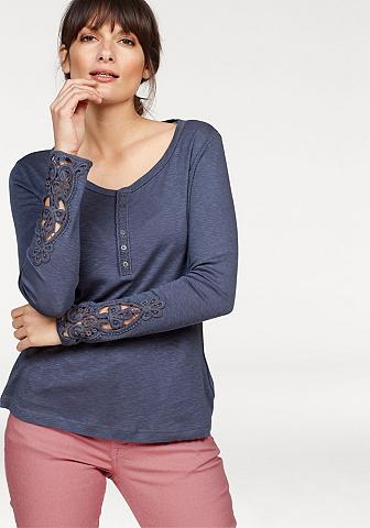 MUSTANG Marškinėliai ilgomis rankovėmis »Lace«...