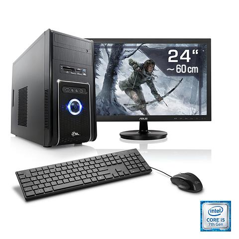 Gaming PC rinkinys | i5-7400 | Ge Forc...
