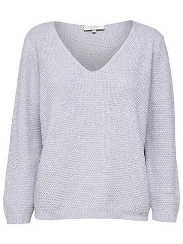 V-Ausschnitt- Megztinis