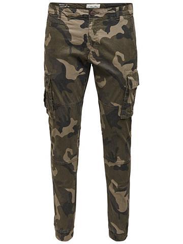 ONLY & SONS Camo- kišeninės kelnės