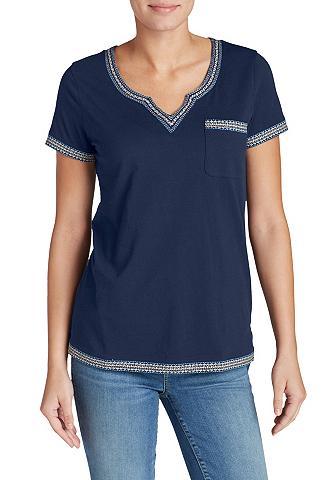 Marškinėliai su apvadas
