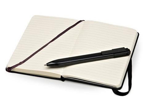 MOLESKINE Rinkinys su Notizbuch + Pen Pocket/Rul...