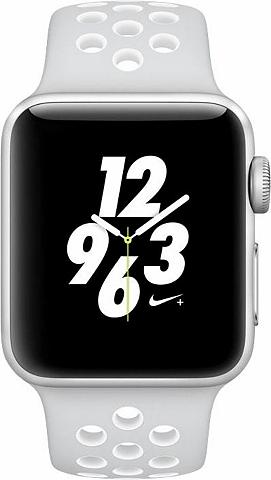 Watch Nike+ Aluminiumgehäuse Silber 3...