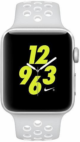 Watch Nike+ Aluminiumgehäuse Silber 4...