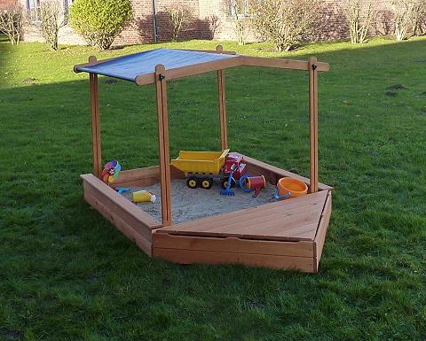 PROMADINO Smėlio dėžė »MULTI« BxL: 260x140 cm su...