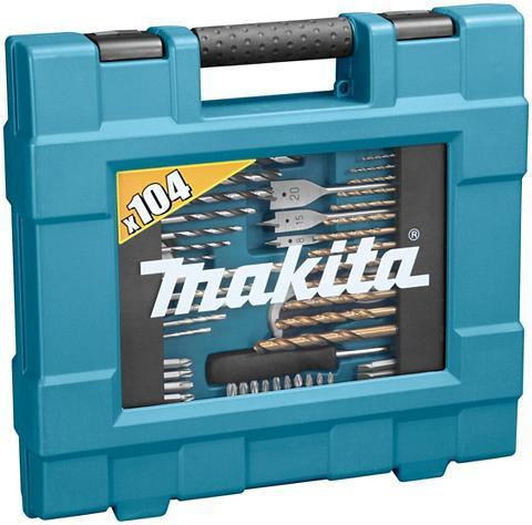 MAKITA Bohrer-Bit-Set »D-31778« (104-tlg.)