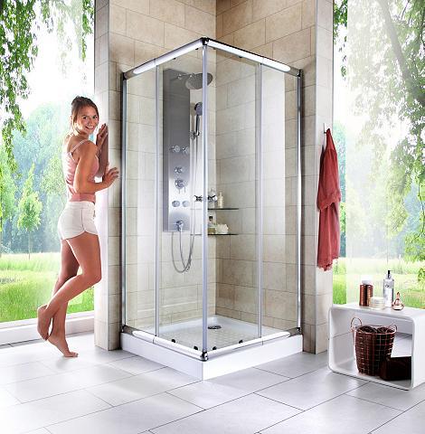 Kampinės dušo durys »Trento« Variabel ...