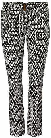 Žakardinės kelnės su Zierschließe