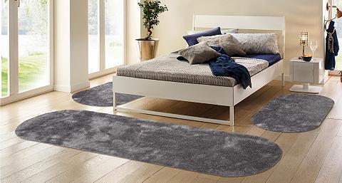 Ilgo plauko miegamojo kilimėliai 3 dal...