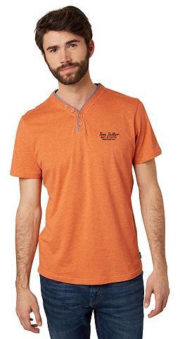 Marškinėliai »T-Shirt su Fake-Knopflei...