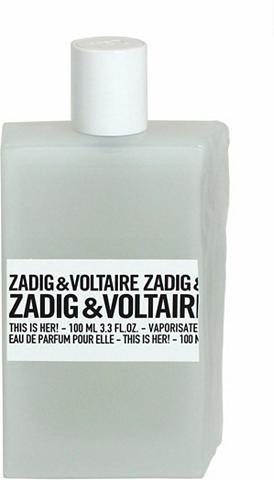 ZADIG & VOLTAIRE Zadig & Voltaire »This is Her!« Eau de...
