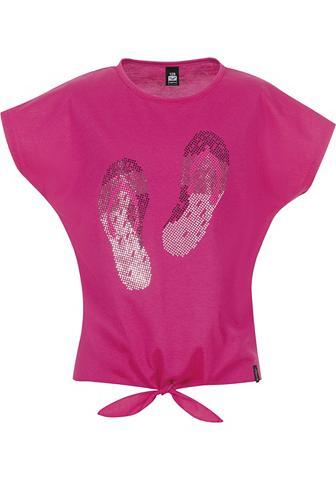 Knoten-Shirt Flip-Flops