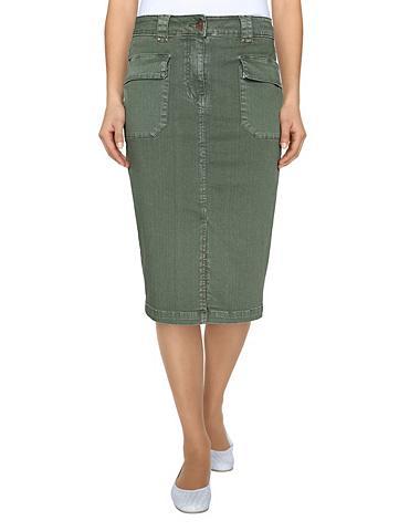 Džinsinis sijonas in stilingas trinto ...