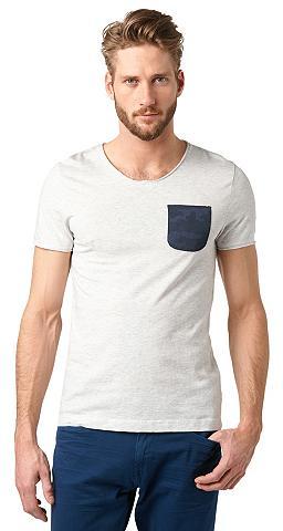 Marškinėliai »T-Shirt su Brusttasche«