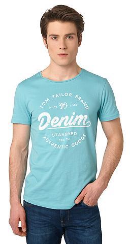 Marškinėliai »T-Shirt su Logo-Print«