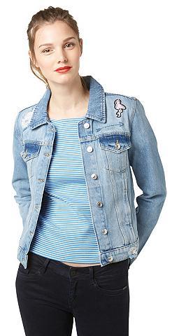 Striukė »Jeans-Jacke in Used-Optik«