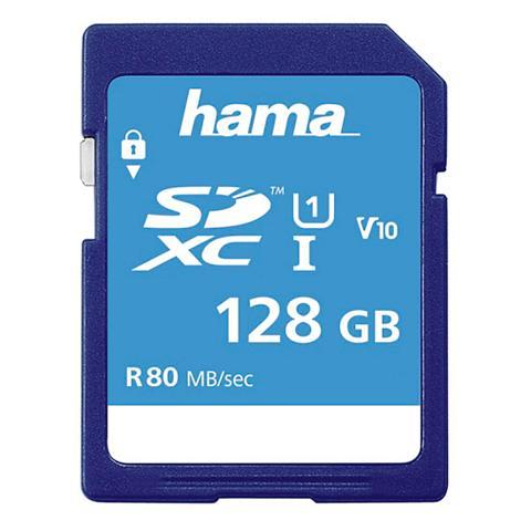 Hama SDXC Speicherkarte 128 GB Class 10 UHS...