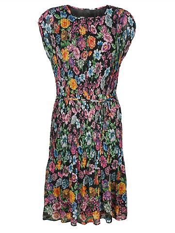 Klostuota suknelė su gėlėtas Druckdess...