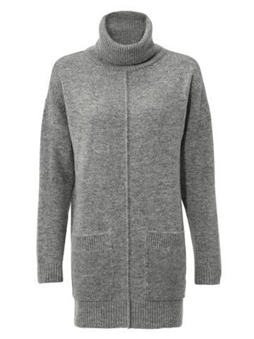 Megztinis aukštu kaklu su kišenė