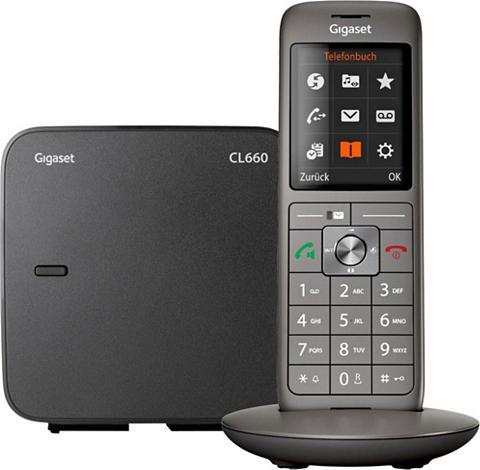 GIGASET »CL660« Bevielis DECT-Telefon (Mobilte...