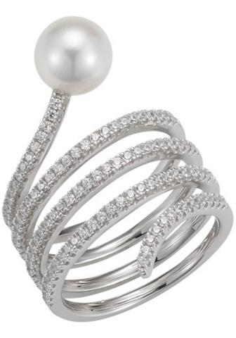 ADRIANA Žiedas su perlais »La mia perla A170«