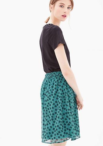 Šifoninis sijonas su pasikartojantis r...