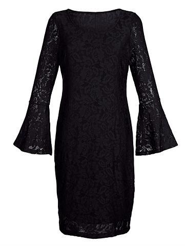 Suknelė su subtilus nėrinių
