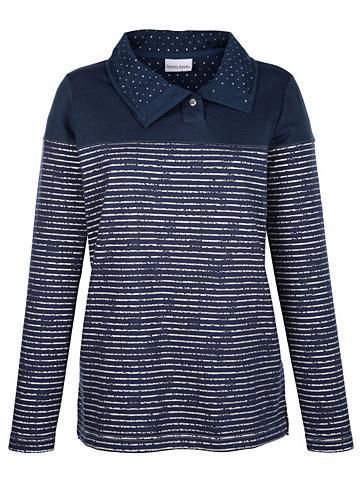 Sportinio stiliaus megztinis su silber...