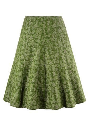 Tautinio stiliaus sijonas su schwingen...