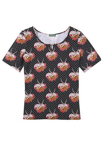 Marškinėliai Moterims su dekoratyvus s...