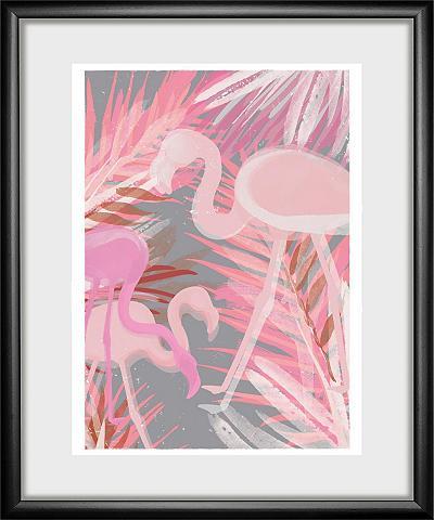 Paveikslas »Flamingo« 30/40 cm