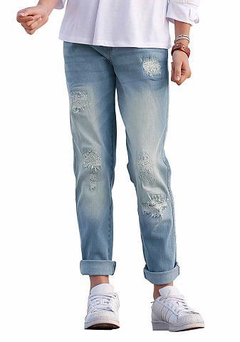 Laisvo stiliaus džinsai