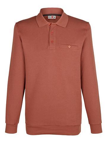 Sportinio stiliaus megztinis su Polo t...