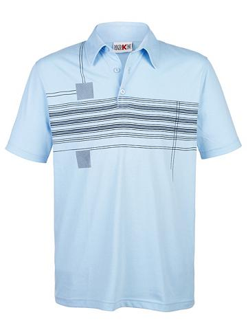 Polo marškinėliai su Front-Druck