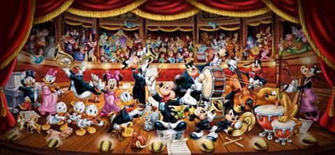 Panoramapuzzle 13200 Teile »Disney Orc...