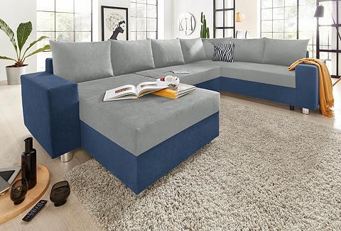 Sofa su spyruoklės patogi su miegojimo...