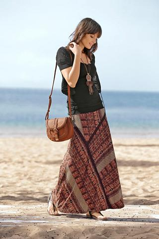 BOYSEN'S Maxi ilgio sijonas »Boho-Chic«