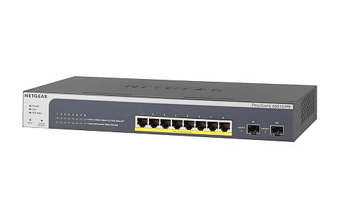 šakotuvas »GS510TPP 8-PORT POE+ GB WEB...