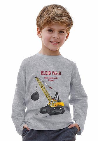 KIDSWORLD Marškinėliai ilgomis rankovėmis »BLEIB...