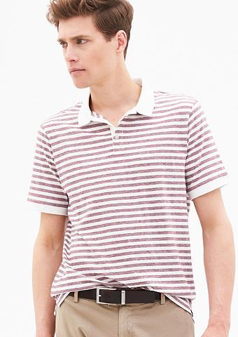 Dryžuotas Polo marškinėliai iš trikota...