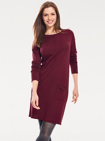 heine CASUAL Megzta suknelė su aufgesetzen kišenė