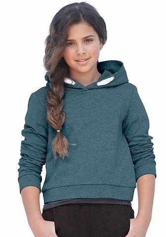 KIDSWORLD Sportinis megztinis su gobtuvu