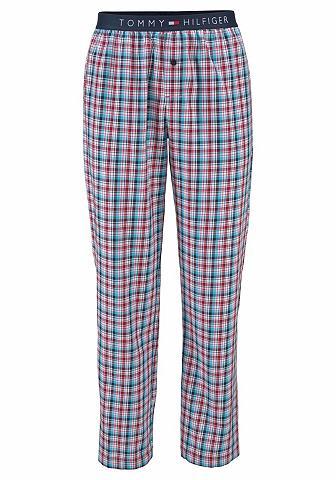 Pižaminės kelnės ilgis vasarinė Check«...