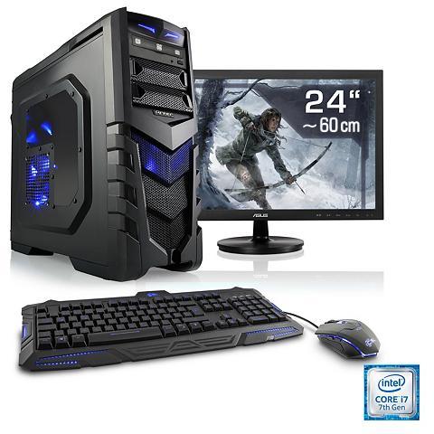 Žaidimų PC rinkinys | i7-7700 | Ge For...