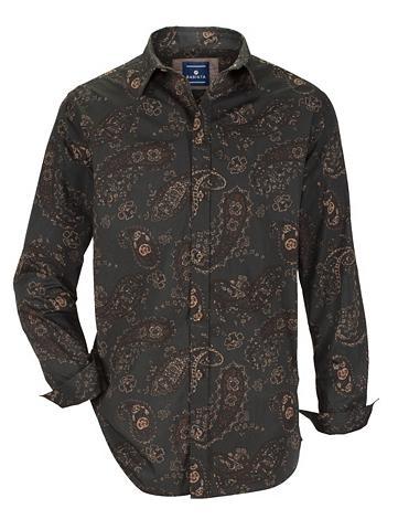 Marškiniai su madingas Druckmuster