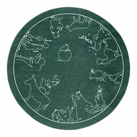Vaikiškas kilimas »Märchen 7« ovali au...