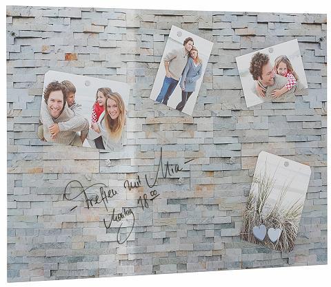 HOME AFFAIRE Magnetinė lenta »Stone Wall« 70/50 cm