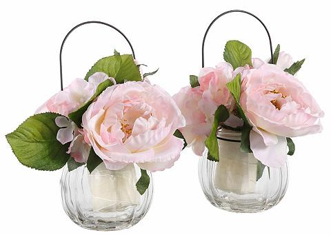 Dirbtinė gėlė »Rosen im Glas« (2 vnt. ...