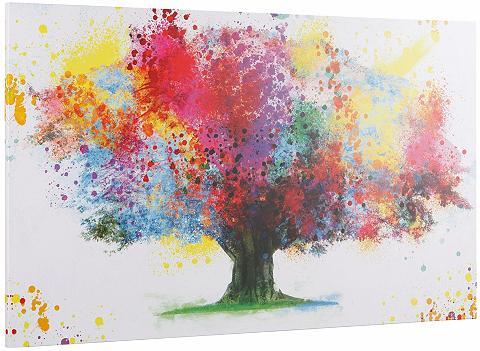 INOSIGN Paveikslas »Coloured Tree«