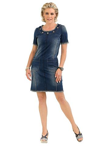 MONA Suknelė in džinso imitacija